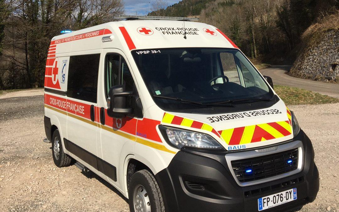 Un nouveau VPSP pour la Croix-Rouge du Jura !