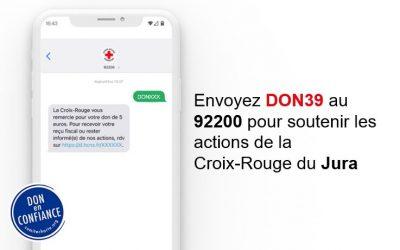 Journées Nationales Don par SMS
